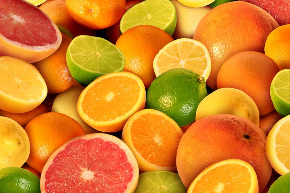 vitamina C portokall